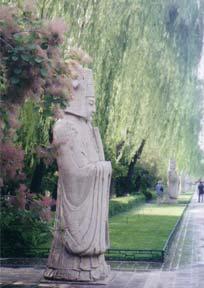 Photo of statue in Beijing